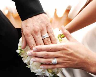 Wedding Ring on Hands