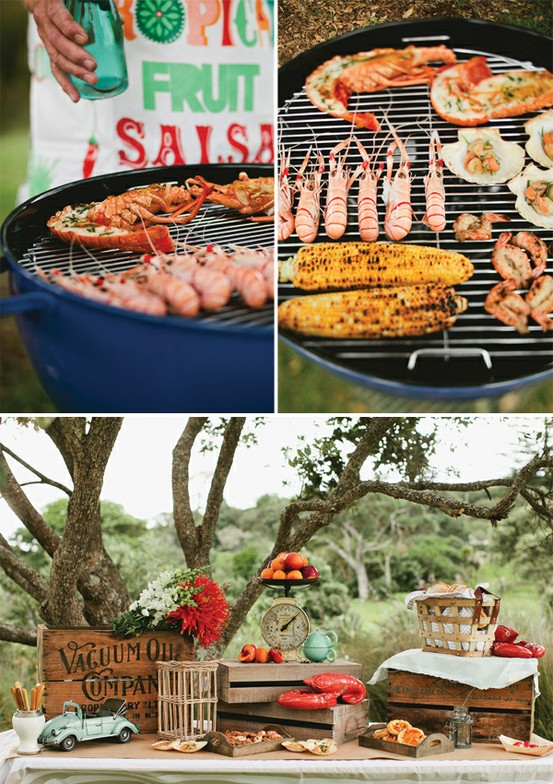 Backyard Barbecue Wedding Menu