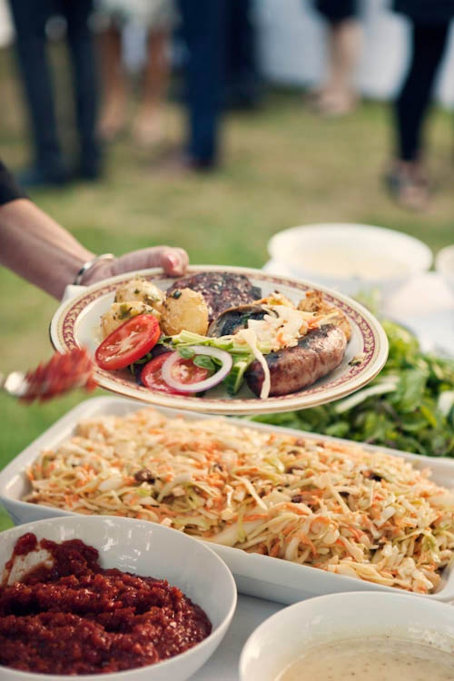 Wedding Main Dish Source Rocknrollbride Backyard Barbecue Menu