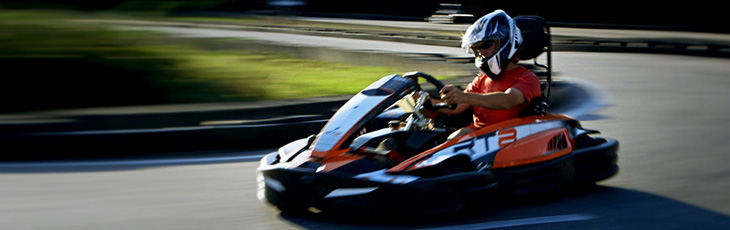 Go Kart racing activity