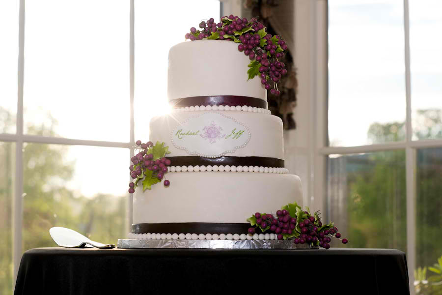 Vineyard Inspired Cake