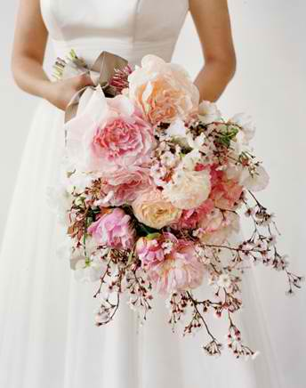 Cherry Blossom Wedding Bouquet