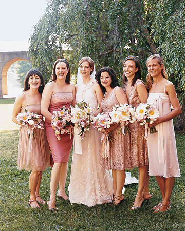 Cherry Blossom bouquets for bridesmaid